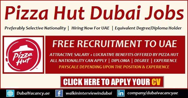 Pizza Hut Dubai Careers