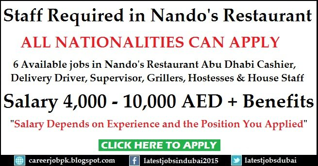 Nandos Dubai Careers