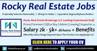 Rocky Real Estate Careers
