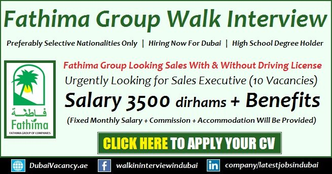 Fathima Group Careers