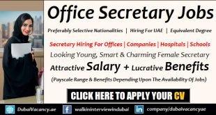 Secretary Jobs in Dubai