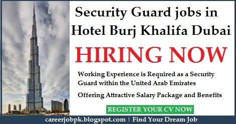 Burj Khalifa Dubai Security Jobs