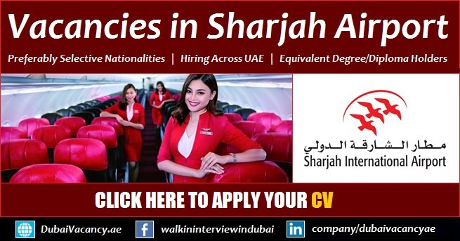 Sharjah Airport Jobs