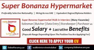 Super Bonanza Hypermarket Careers