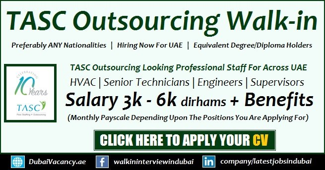 TASC Outsourcing Jobs