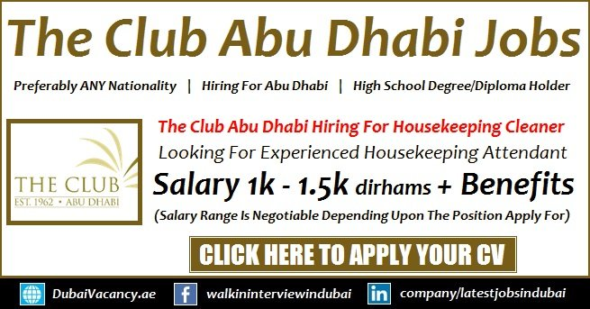 The Club Abu Dhabi Careers
