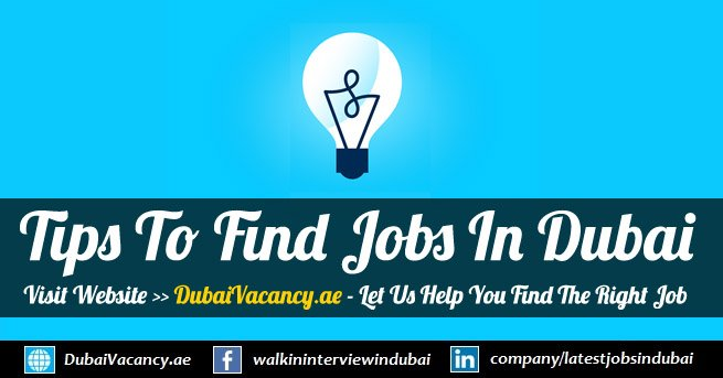 Tips To Get A Job in Dubai