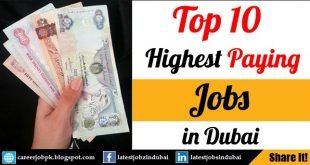 Top 20 Highest Paying Jobs in Dubai