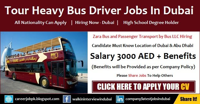 Tourism Bus Driver Required
