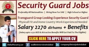 Transguard Security Jobs