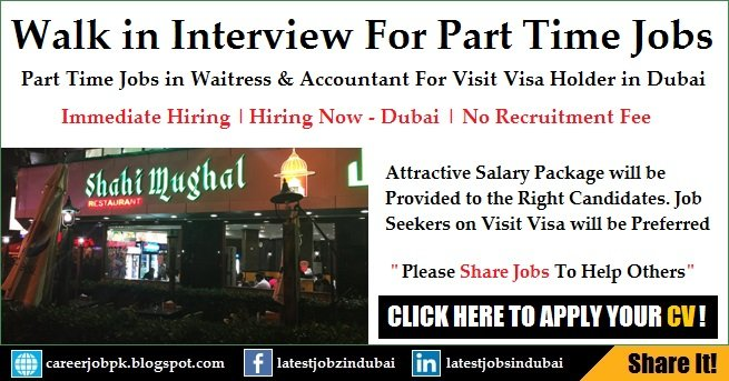 Shahi Mughal Part Time Accountant Jobs For