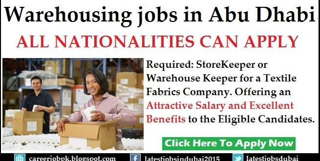 Warehouse Assistant Jobs in Dubai