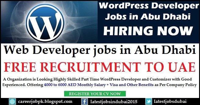 Part Time Web Developer Jobs In Dubai