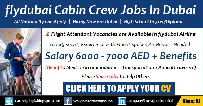 flydubai Careers and Jobs 2017